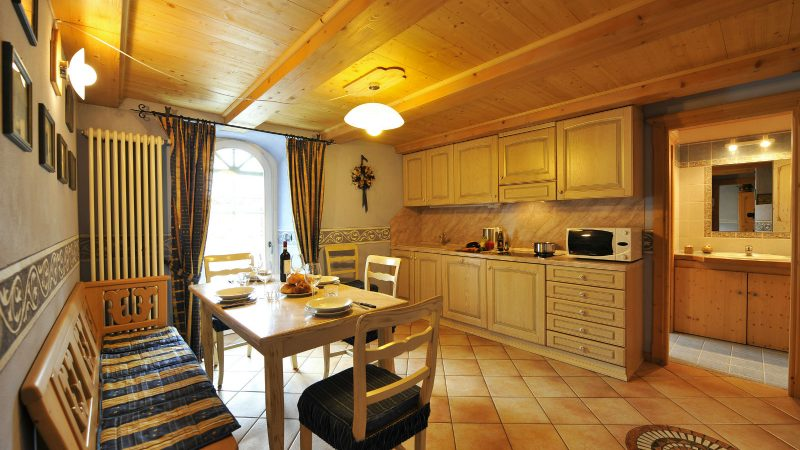livigno apartment with sauna